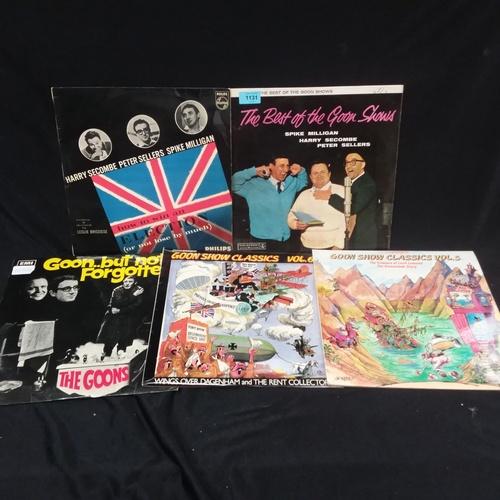 1117 - Five Goon Show LPs....