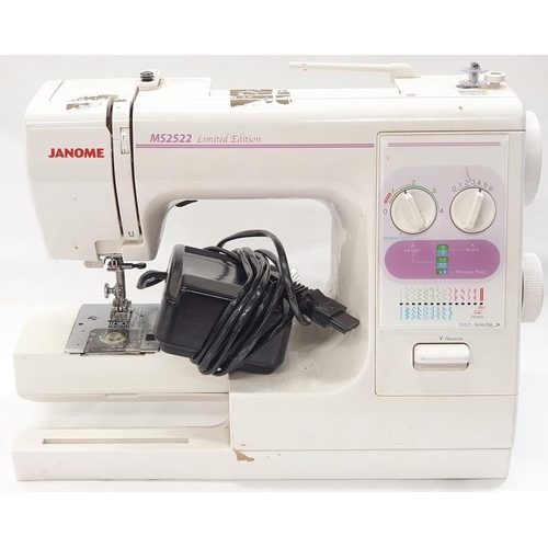 51 - Janome MS2522 Limited Edition electric sewing machine (REF 82)....