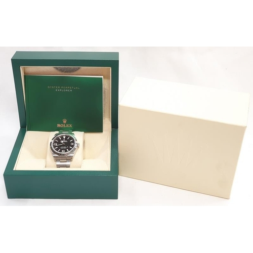 50 - Rolex Explorer 1 Mk II watch. Mint condition. Boxed with papers....