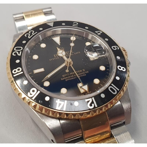 1 - Rolex GMT II 16713, 2002, box and papers....