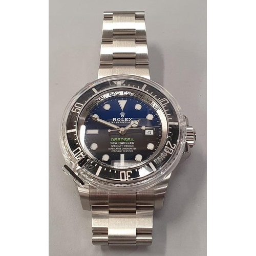 18 - Rolex Sea-Dweller, Deep Sea model 126660, James Cameron, box and papers 2019....