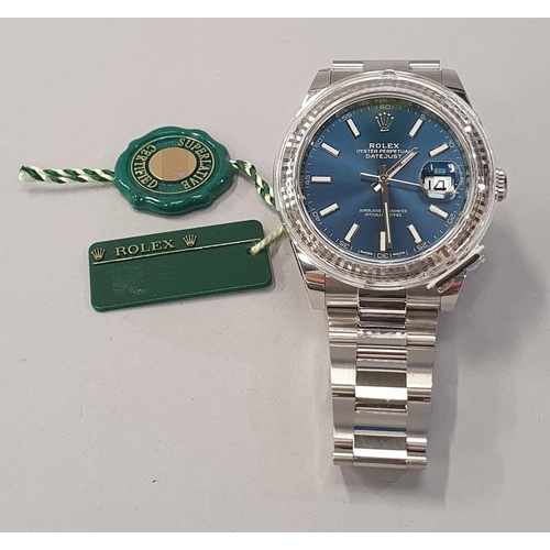 2 - Rolex Date Just, Model 126334, 2018 unworn, Box and Papers....