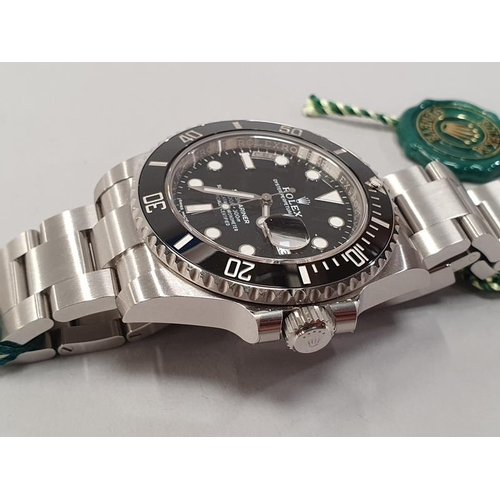 20 - Rolex Submariner Model 16610LN, box and papers unworn 2019....