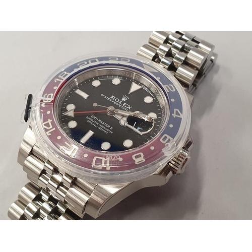 21 - Rolex GMT II 'Pepsi' model 126710BLRO, Box and papers, Unworn....