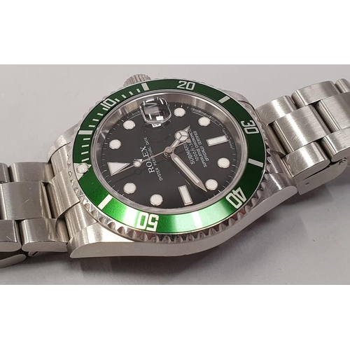 7 - Rolex Submariner 16610, with service box and papers....
