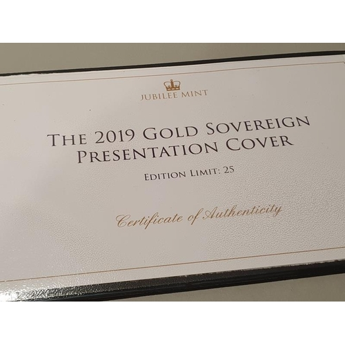 35 - 2019 Gold Sovereign - Ltd Edition 24 of 25....