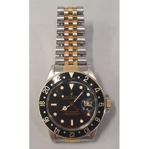 4 - Rolex GMT Master bi-metal model No.16753, 1981, Full working Order....