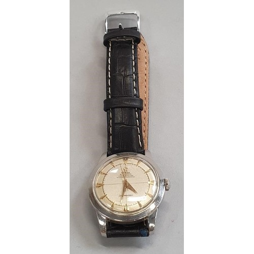30A - Omega Bumper 1952 Auto Seamaster Gents Wristwatch 352 Chronometer. Comes with scarce Chronometer cer...