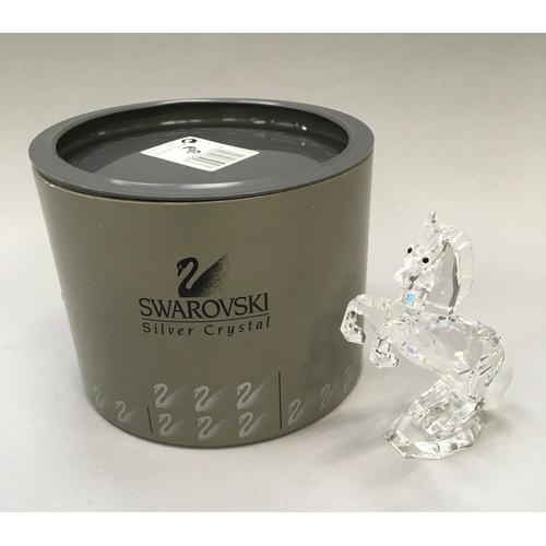 351 - Swarovski Crystal: White Stallion - Martin Zendron - 174958 - with box....