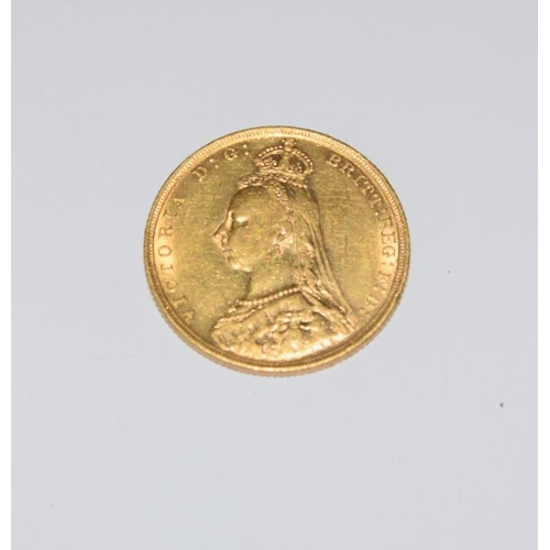 1121 - Gold Sovereign dated 1892....