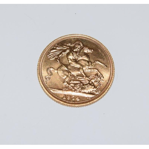 1125 - Gold Sovereign dated 1974....
