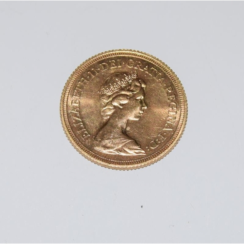 1126 - Gold Sovereign dated 1974....