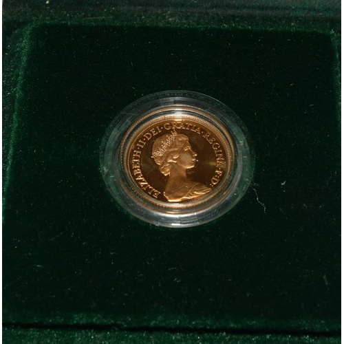 1127 - Gold Sovereign dated 1980....