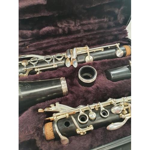 173 - Odyssey clarinet in a case.