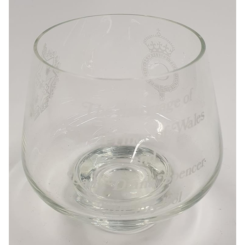 51 - Caithness glass engraved table bowl boxed Ltd edition 6/500....