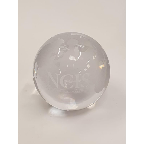 53 - A collection of paperweights to include the Caithness outlets Elliotts stone from Israel and the 50t...