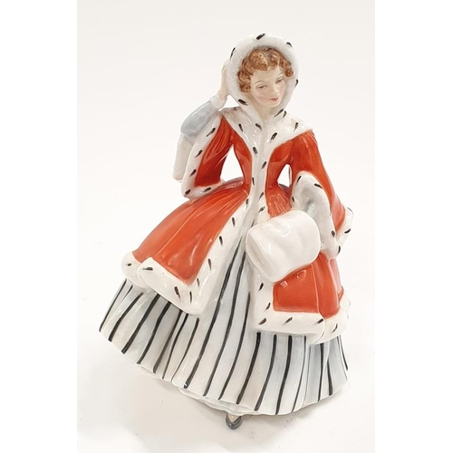 23 - Royal Doulton lady figure Noelle Hn2174 early retired....