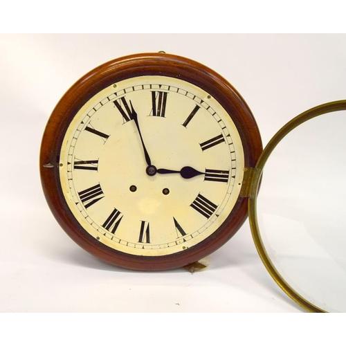 1359 - Chiming school clock - working....