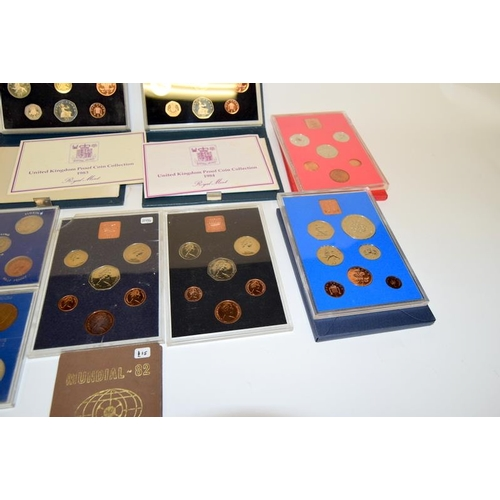 333 - 14 coin proof sets....