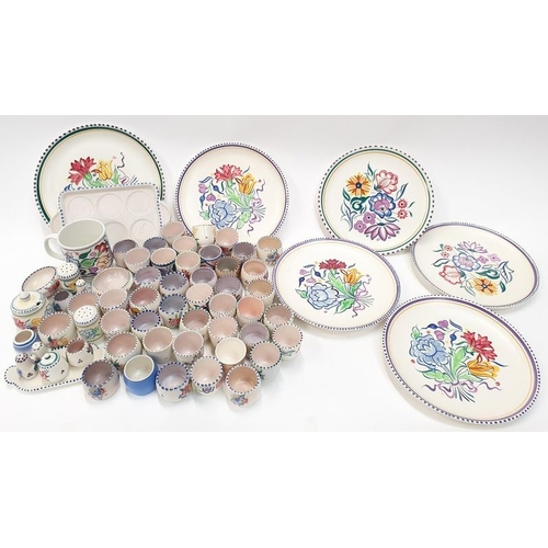 93 - Quantity of Traditional Poole Pottery to include cruet sets and plates....