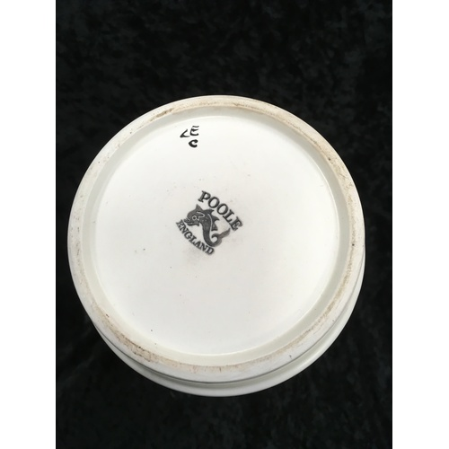 106 - Poole Pottery LE pattern vase....