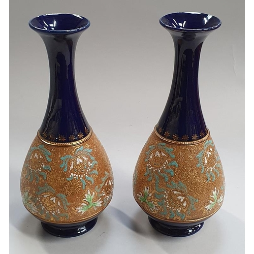 184 - Two Royal Doulton vases....