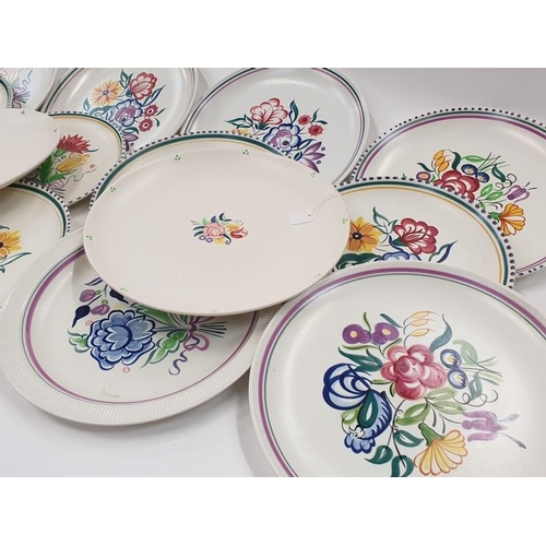 155 - Collection of Traditional Poole Pottery dishes (12)....