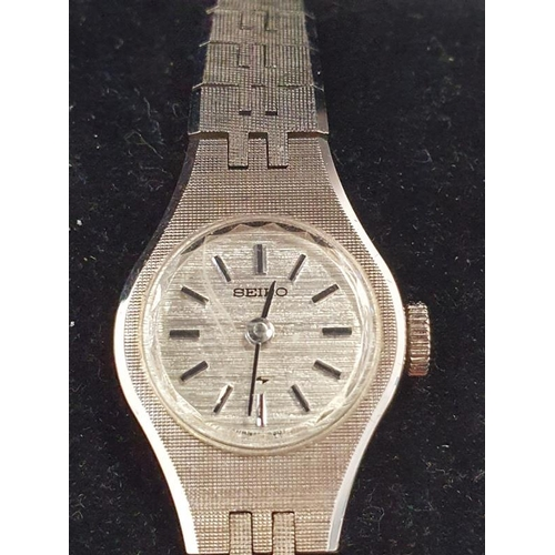 1356 - Ladies Seiko mechanical watch....