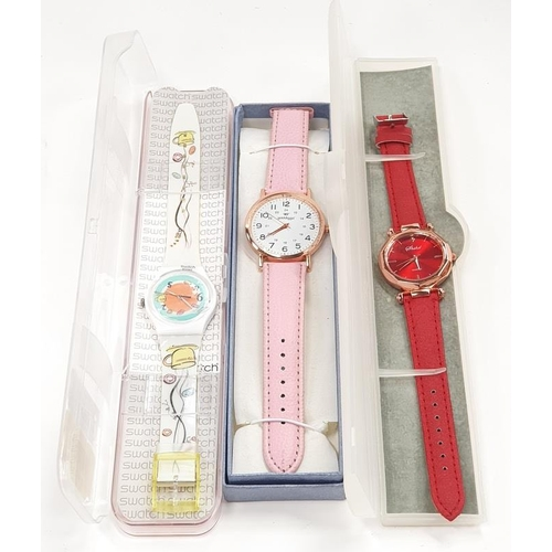 1360 - 3 working watches, to include Swatch....