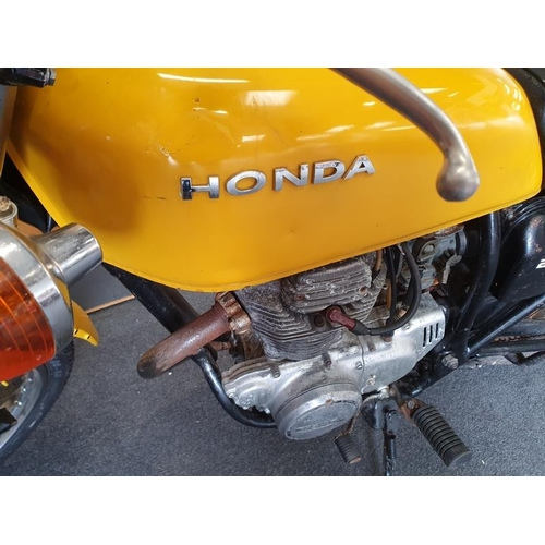 2 - Honda CJ250T historic motorcycle barn stored lots of corresponding paper work MOT exempt showing 169...