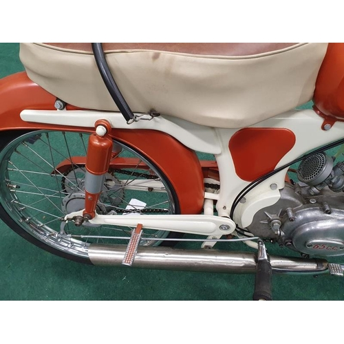 1 - Gimson 65 Sport 65cc rare Spanish motorcycle. Never Introduced into Great Britain. Matching serial n...