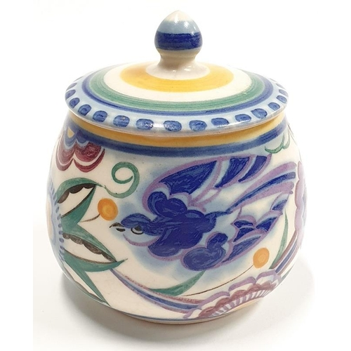 483 - Poole Pottery Traditional pattern to include Bluebird vases (5)....