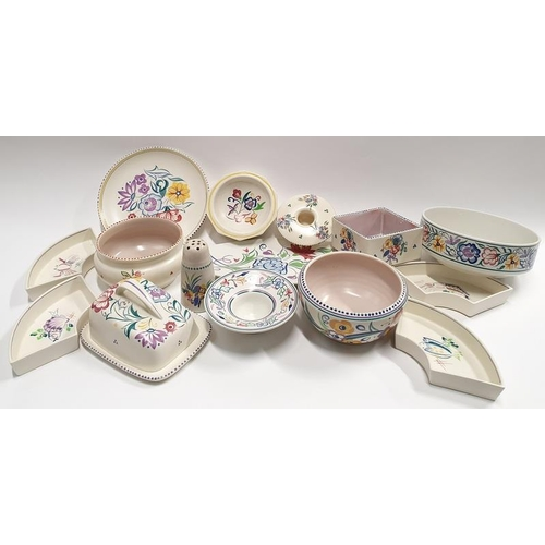 485 - Poole Pottery collection of Traditional pattern tableware (15).