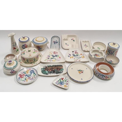 487 - Poole Pottery: Quantity of Traditional pattern tableware (20)....