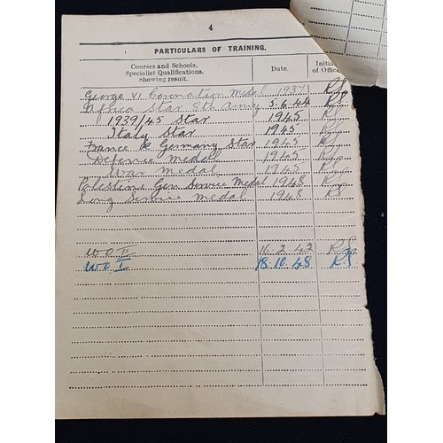 237 - WWII group of medals to V.Sutcliffe....