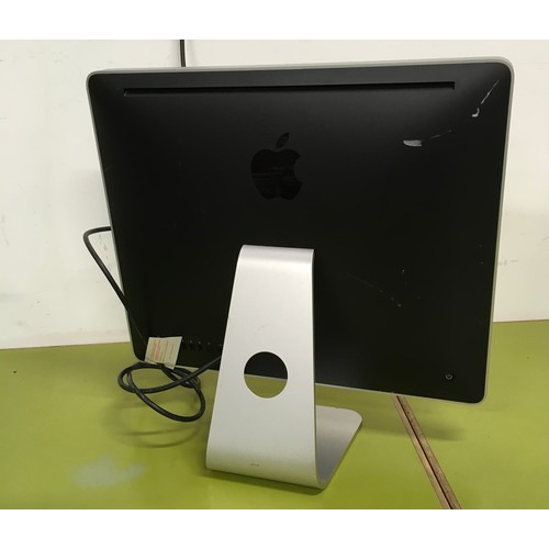 """3 - I Mac 20"""" serial no W88030e3x88 no lead but shown with power on ref zz"""