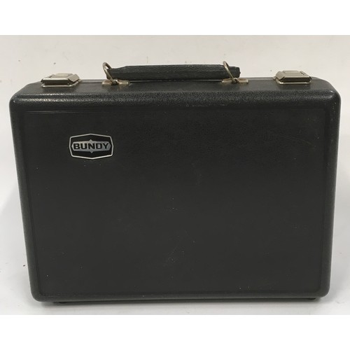 11 - Bundy clarinet  just overhauled in its case...
