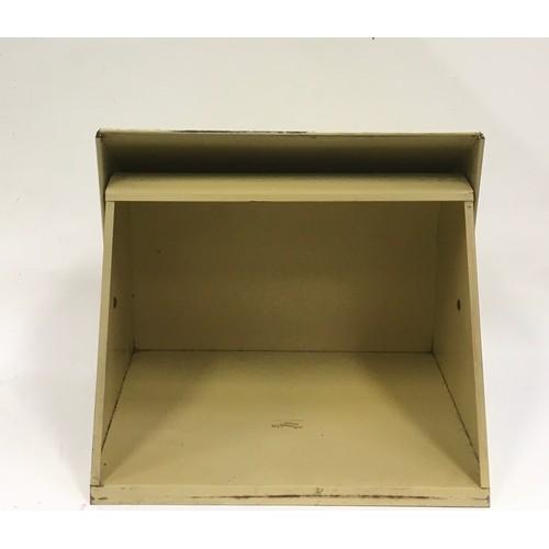 14 - A retro tin bread bin. By Worcester Ware 35x45cm...