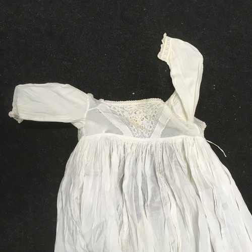 32 - Victorian lace children christening gowns does need laundering...