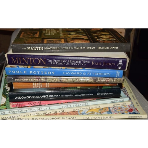 319 - Reference books on Tiles & associated to include