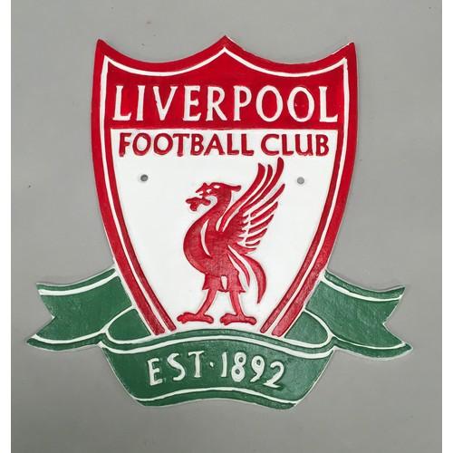49 - A Liverpool football plaque. (ref 293)...