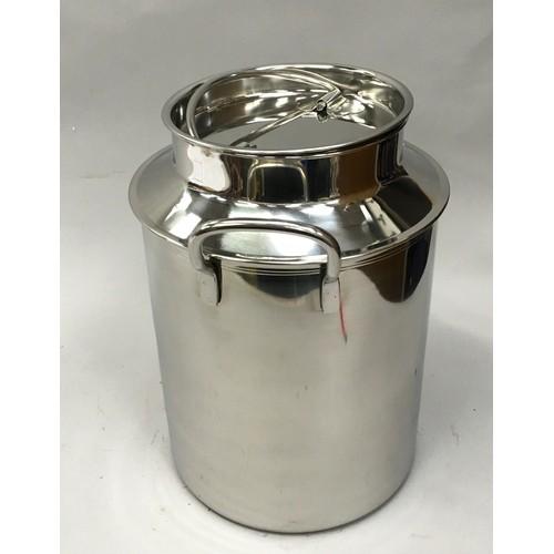 23 - A Stainless steel milk churn (V1) (ref 50)...