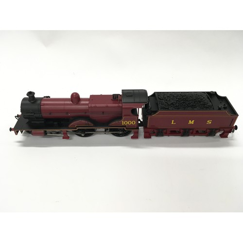 22 - Hornby OO R3063 LMS Compound 4-4-0 Tender locomotive 1000. Appears Good  in Excellent box.