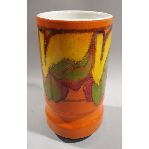 22 - Poole Pottery shape 84 Delphis vase 23cm high....