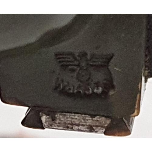 24 - German WWII 1936 MG34/35 RK31 field gun sight. Hildebrand-Wichmann-Werke, Frieberg-SA. Stamped on ca...