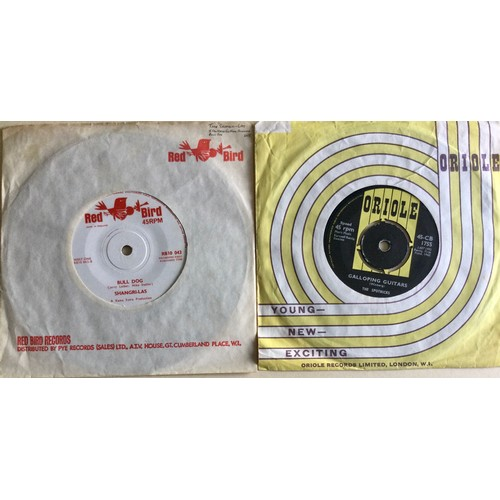 21 - 2 X EXCELLENT 60'S SINGLES. First we have ' I Can Never Go Home Anymore' from The Shangri-las on Red...