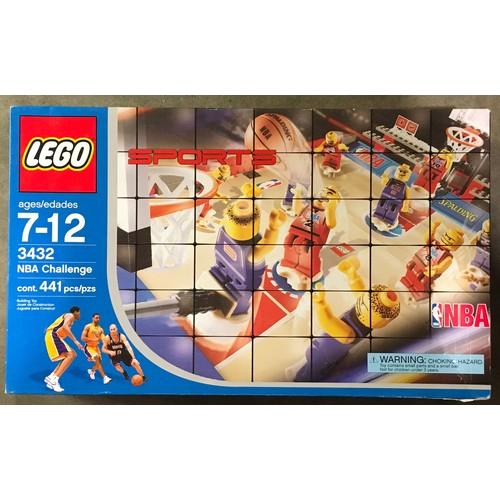 30 - Lego NBA Challenge set 3432. New and sealed.