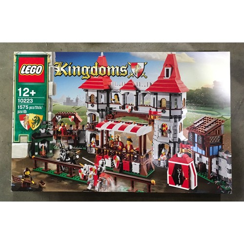 6 - Lego Kingdoms Joust set 10223 (retired) New and sealed.