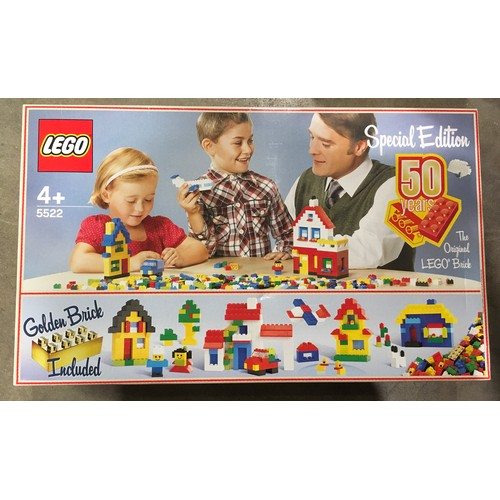 22 - Lego Special Edition 50 years Golden Anniversary set 5522 (retired) New and sealed.