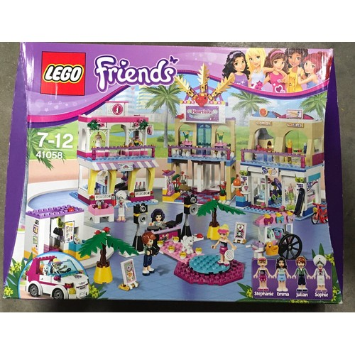 44 - Lego Friends Heartlake Shopping Mall set 41058 (retired). New and sealed.